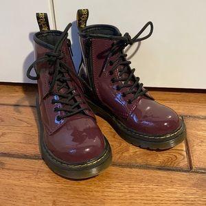 Purple Girls Dr. Martens Size 13 US